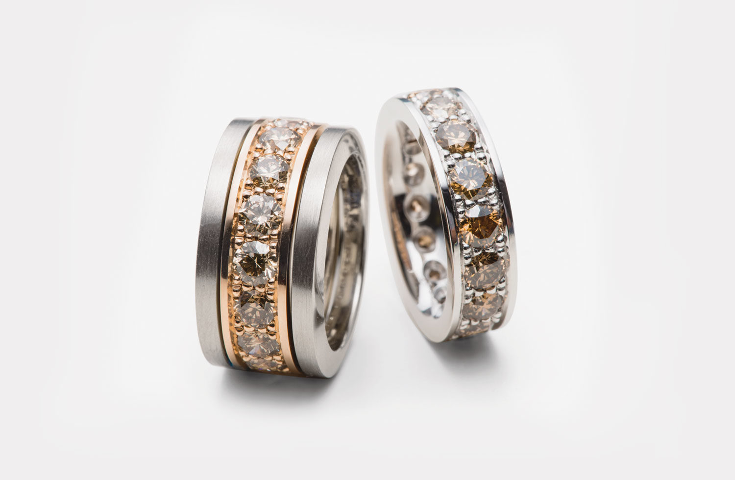 Ringe in Gold mit Diamanten